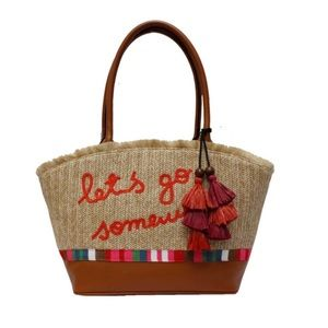 Libby Edelman Vacation Tote Bag NEW